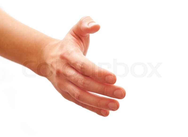 1629510-man-offering-hand-for-handshake-isolated-on-white