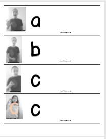 material para imprimir de letras y fonemas