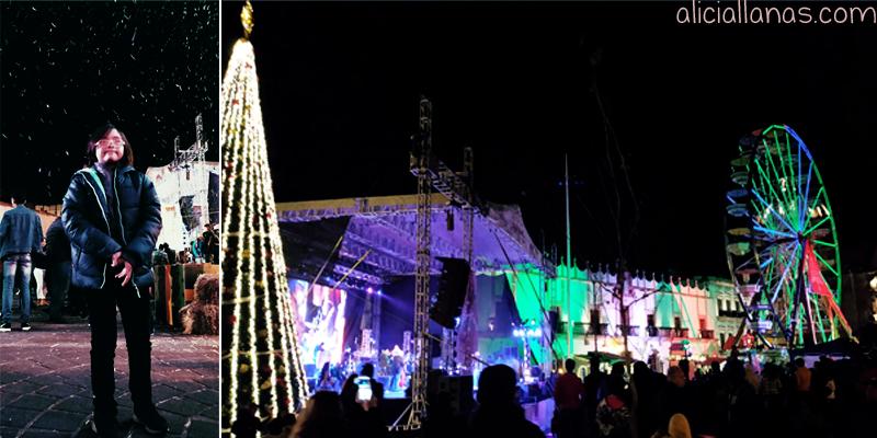 plaza de armas zacatecas navidad