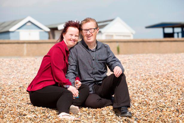 pareja con síndrome de Down en Reino Unido